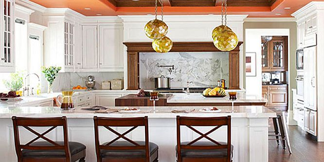 Warm Kitchen Color Schemes